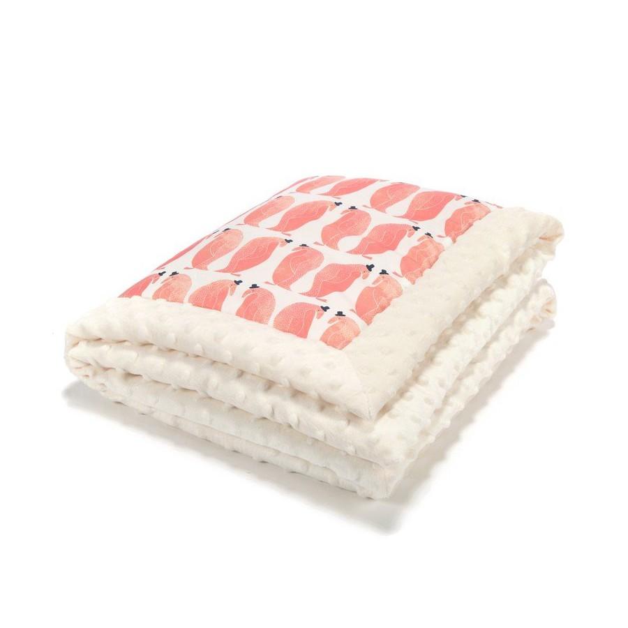 LA baby blanket Millou PENGUIN PEPE
