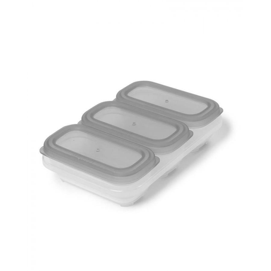 Skip Hop Zestaw pojemników do mrożenia Easy-Fill Grey/Coral