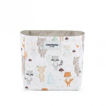 COLORSTORIES CONTAINER ACCESSORIES S WOODLAND WHITE