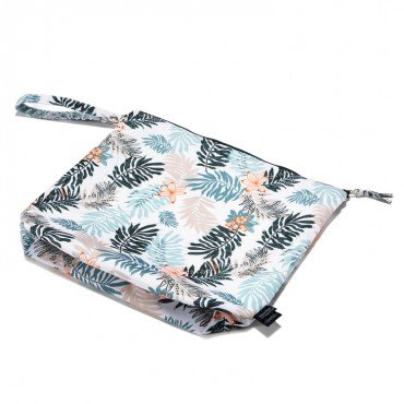 La Millou WATERPROOF TRAVEL BAG XL--- PAPAGAYO LEAVES