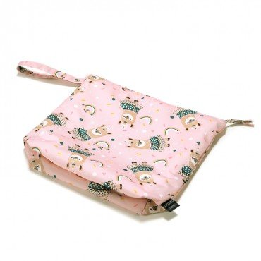 LA MILLOU WATERPROOF TRAVEL BAG XL I'M A RAINBOW BABY