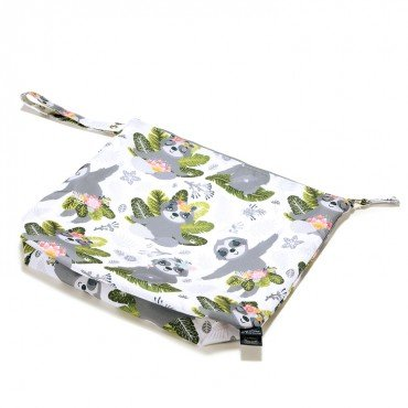 LA MILLOU WATERPROOF TRAVEL BAG XL YOGA SLOTH SQUAD