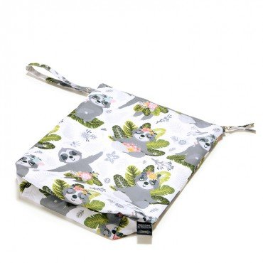 LA MILLOU WATERPROOF TRAVEL BAG M YOGA SLOTH SQUAD