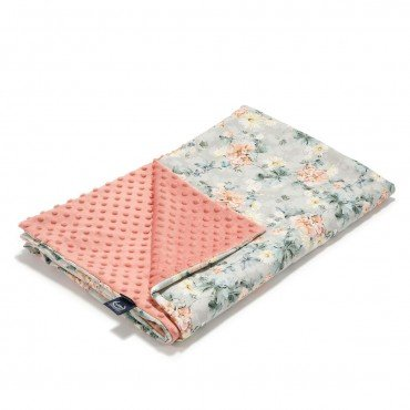 La Millou TODDLER LIGHT BLANKET - BLOOMING BOUTIQUE - PAPAYA