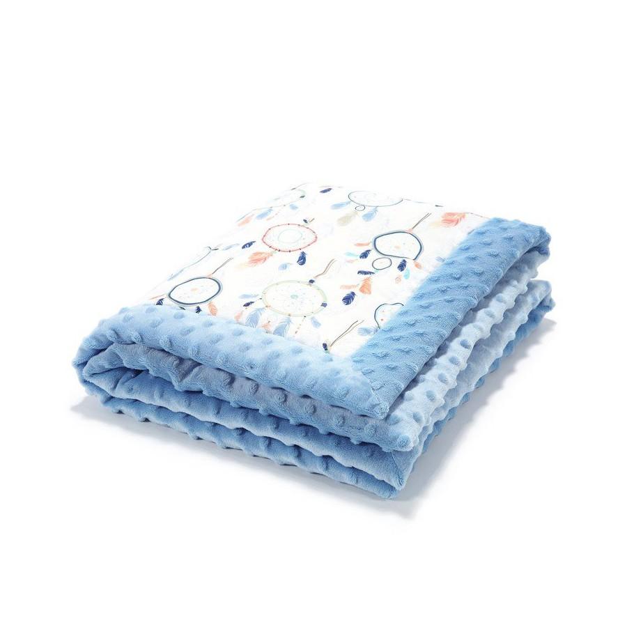 LA baby blanket Millou DREAMCATCHER WHITE SKY