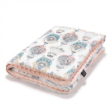 La Millou MEDIUM BLANKET - CAPPADOCIA DREAM - POWDER PINK