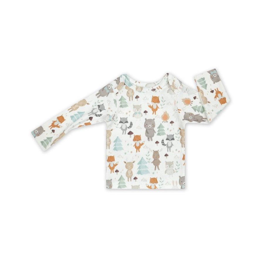 ColorStories - Bluzka niemowlęca - Woodland 68cm