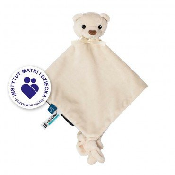 WHISBEAR DOU DOU cuddly blanket WHITE BEAR FRIENDS OF WHISBEAR