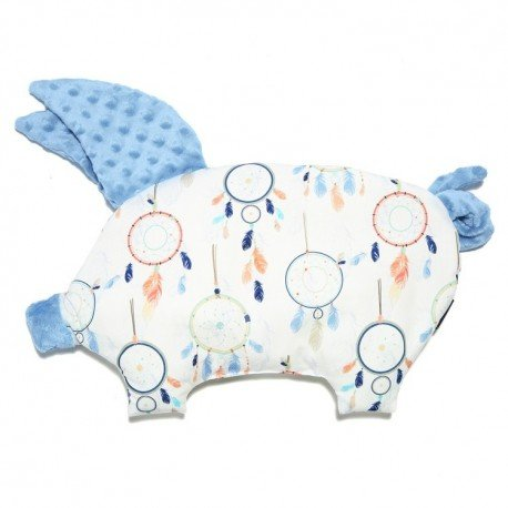 LA MILLOU PODUSIA SLEEPY PIG DREAMCATCHER WHITE SKY