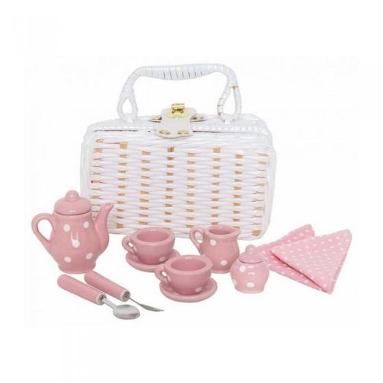 JaBaDaBaDo Koszyk piknikowy porcelanowy