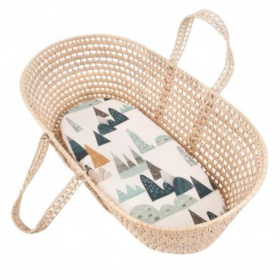 Samiboo - sheet to the gondola, moses basket, bamboo cradle mountain