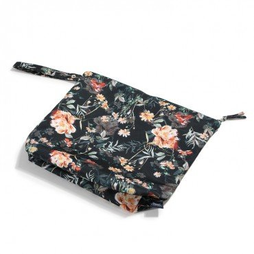 LA MILLOU WATERPROOF TRAVEL BAG XL BLOOMING BOUTIQUE NOIR