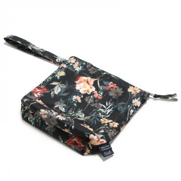 LA MILLOU WATERPROOF TRAVEL BAG S BLOOMING BOUTIQUE NOIR