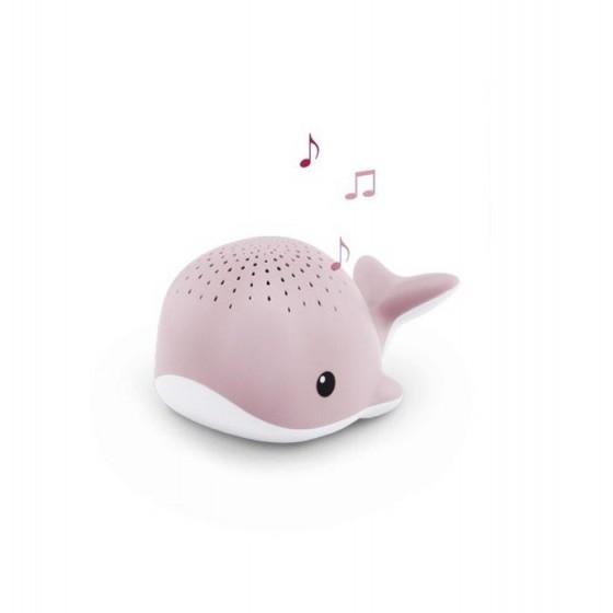 Zazu WALLY Projector Pink Whale