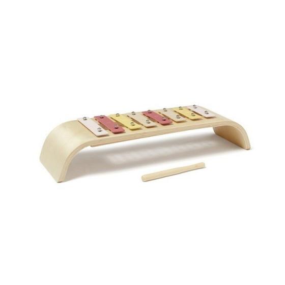 Kids Concept Glockenspiels Wooden Multi Pink