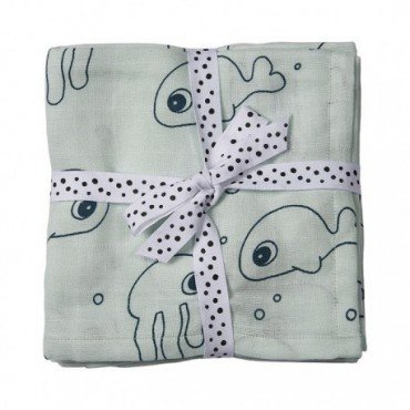 Done By Sea Deer Friends Diaper 2 pcs.