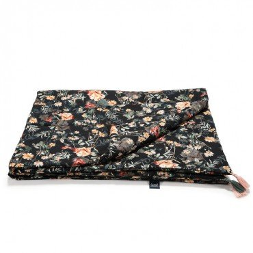 LA MILLOU BAMBOO BEDDING KING SIZE BLOOMING BOUTIQUE NOIR