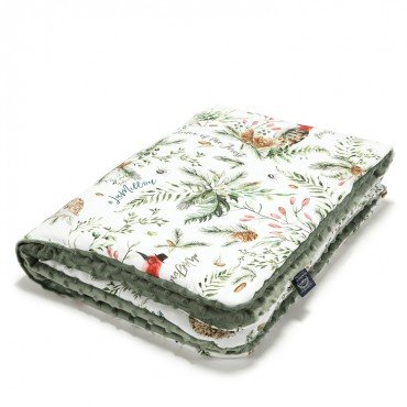 La Millou MEDIUM BLANKET - FOREST - KHAKI
