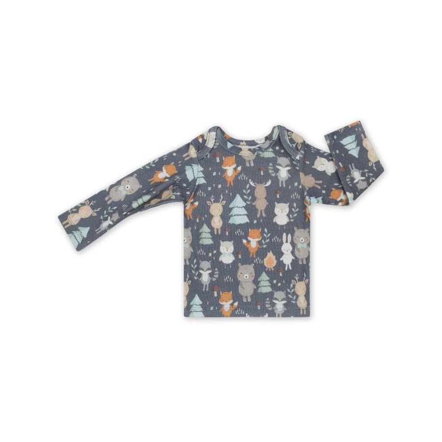 ColorStories - Bluzka niemowlęca - Woodland Grey 68cm