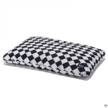 LA MILLOU BED PILLOW 40x60cm FOLLOW ME CHESSBOARD