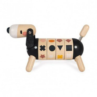 Janod Wooden sorter rotary Dog Sweet Cocoon