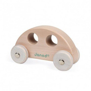 Janod Wooden vehicle Sweet Cocoon - Wooden toy car