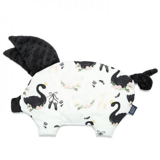 LA MILLOU PODUSIA SLEEPY PIG MOONLIGHT SWAN BLACK