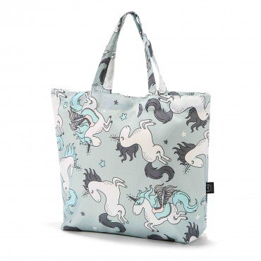 LA MILLOU SHOPPER BAG UNICORN RAINBOW KNIGHT