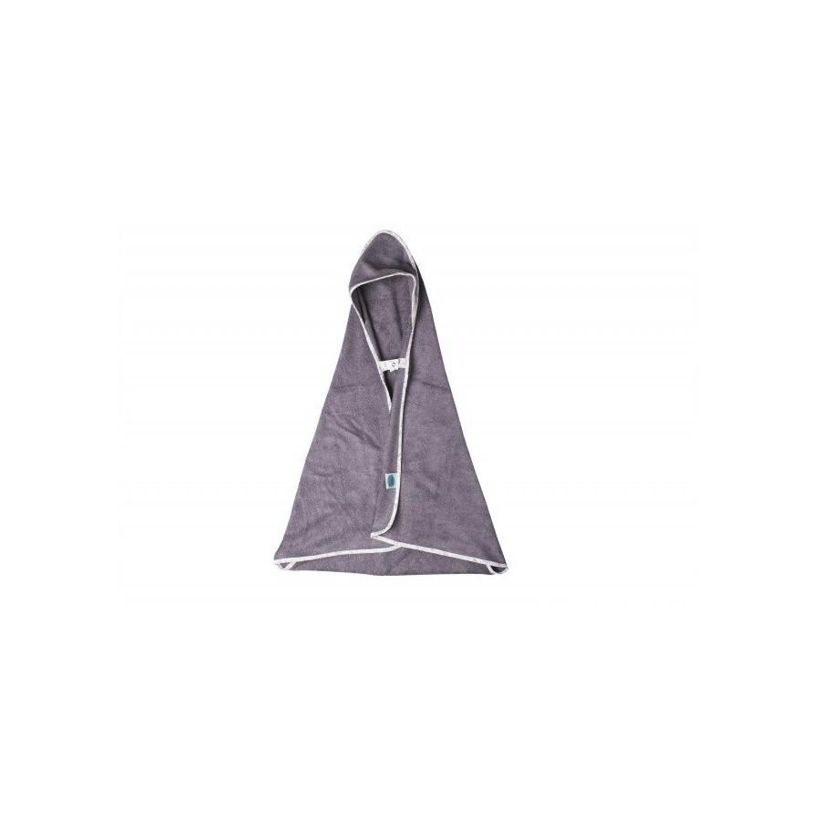 PINK NO MORE TOWEL BAMBOO with hood 0-5 BOTANIC