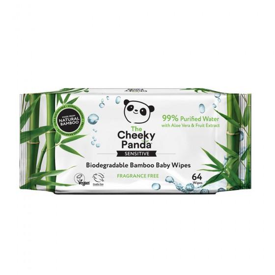 Cheeky Panda Wet baby wipes 64 pcs.