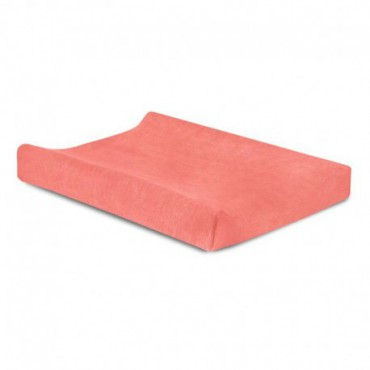 Jollein case for changing terry cloth 50 x 70 cm Coral Pink