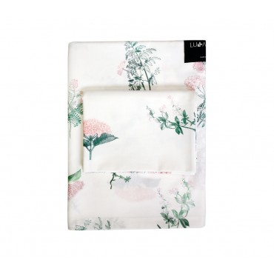 LULLALOVE 100x135 cm cotton sheets HERBARY PINK