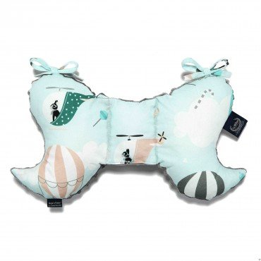 LA MILLOU ANTI-SHAKE PILLOW ANGEL'S WINGS MISS CLOUDY GREY