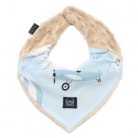 LA Millou very soft scarf CAPTAIN ADVENTURE LATTE