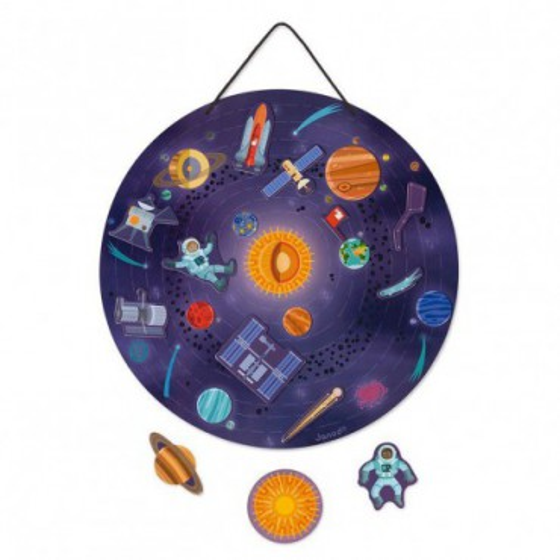 Janod Magnetyczna układanka Układ słoneczny