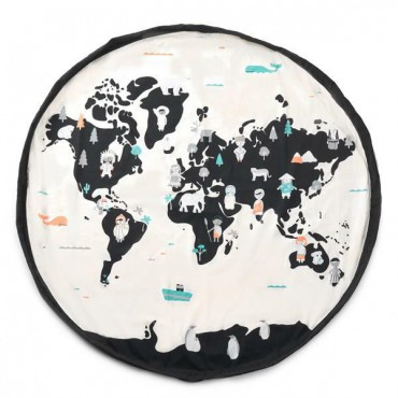 PLAY & GO BAG WORLD MAP / STARS