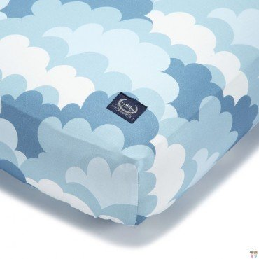 LA MILLOU BEDSHEET GOOD NIGHT 70 x 140 cm - ADVENTURE SKY