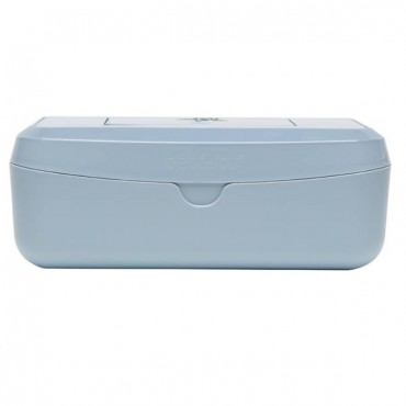 Bebe Jou-container for wet wipes LEOPARD BLUE