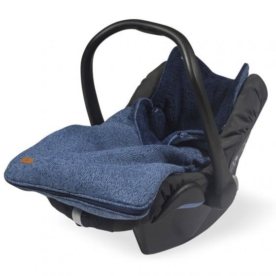 Jollein Śpiworek zimowy do fotelika / gondoli Melanżowy granat 0-10 miesięcy