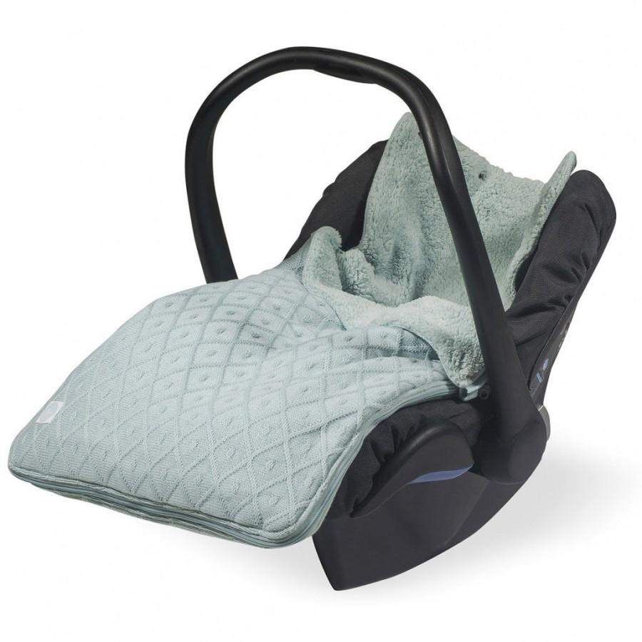 Jollein Śpiworek zimowy do fotelika / gondoli Mięta Diamond 0-10 miesięcy