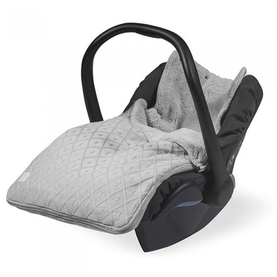 Jollein Śpiworek zimowy do fotelika / gondoli Szary Diamond 0-10 miesięcy