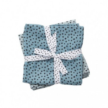 Done to Deer Dots Diaper 2 pcs Blue