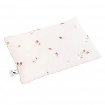 Samiboo - Cotton pillow to sleep raspberries 40x60 cm