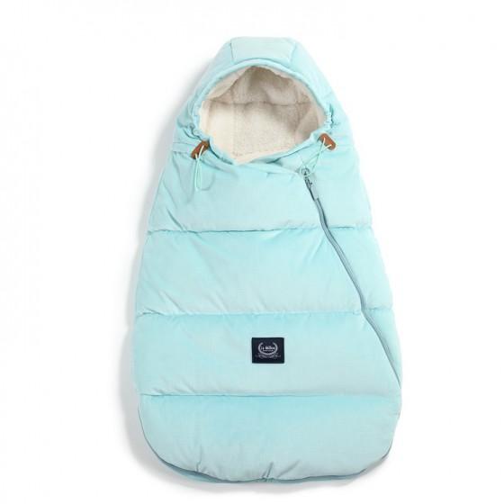 LA MILLOU ASPEN WINTERPROOF STROLLER BAG BABY AUDREY MINT VELVET