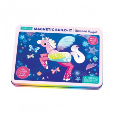 Mudpuppy magnetic structures Magical Unicorns 4+