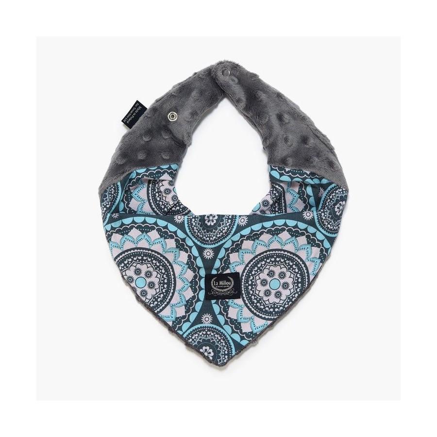 LA Millou very soft scarf - MOSAIC - GRAY
