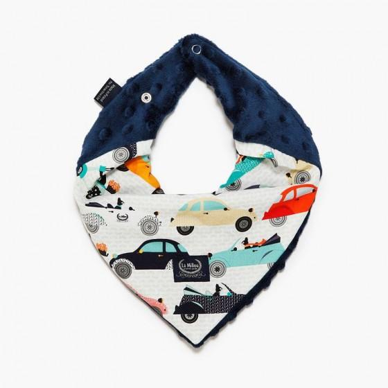 LA Millou very soft scarf - LA MOBILE - NAVY