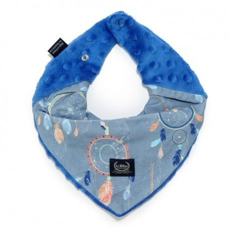 LA Millou very soft scarf - DREAM CATCHER - ELECTRIC BLUE