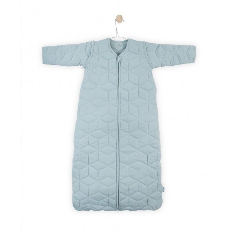 Jollein Śpiworek do spania z odpinanymi rękawami Graphic Mięta 0-6 miesięcy