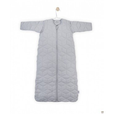 Jollein Sleeping bag to sleep with removable sleeves Graphic Gray 6-18 months